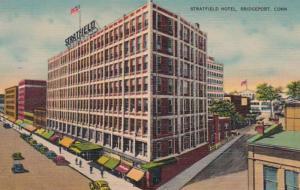 Connecticut Bridgeport Stratfield Hotel 1945