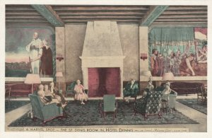 ATLANTIC CITY, NJ, 1900-10s; A Marvel Spot, The St. Denis Room, Hotel Dennis