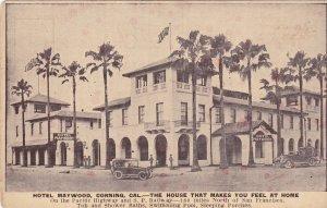 CORNING, California, 1900-10s; Hotel Maywood