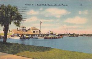 Florida Daytona Beach Halifrax River Yacht Club 1943