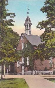 North Carolina Winston Salem Home Moravian Church Albertype
