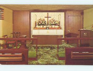 Unused Pre-1980 CHURCH SCENE Honolulu Hawaii HI L3359