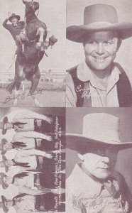 Cowboy : Bill Elliot, Cast of 'The Lone Ranger, Charles Buck Jones, 30s-40s