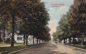 New York Cortland Tompkins Street 1915