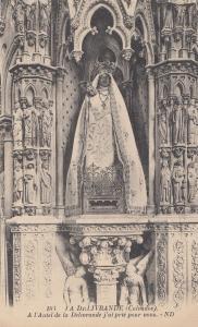 Calvados IA DeLivrande Statue French Religious Postcard