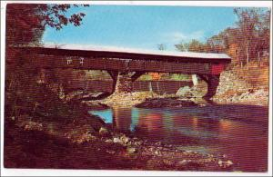 Taftsville Covered Bridge, Ottauquechee River VT