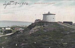 Canada New Brunswick St John Martello Tower