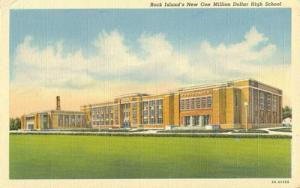 Rock Island's New One Million Dollar High School unused l...