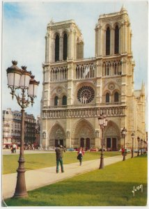 PARIS, Notre-Dame, 1977 used Postcard