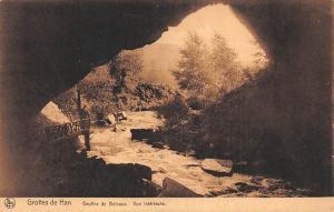 Belgium Grottes de Han, Gouffre de Belvaux, Vue Interieure