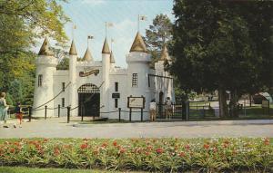 Canada Entrance Castle Storybook Gardens London Ontario