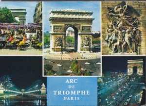 Paris France - Multiple views day and night, 1980s