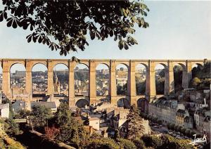 France Morlaix The Viaduct Railway General view