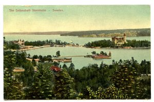 Sweden - Stockholm. The Saltseabath