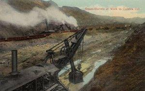 PANAMA, 1900-10s; Steam-Shovels at Work in Culebra Cut