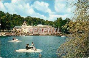 Modern Postcard Bagnoles de L Orne Orne Lake Casino