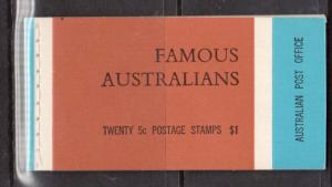 Australia #446a - #449a VF/NH Complete Booklet