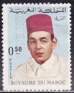 Morocco 179 USED 1968 King Hassan II