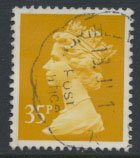 Great Britain SG X989 Sc# MH154   Used / FU  - Machin 35p  see details and sc...
