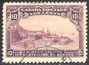 Canada #101 Used  Vf