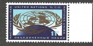 United Nations Scott 107  MNH   Post Office fresh