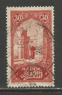 French Morocco    #99  used  (1923)  c.v. $0.40