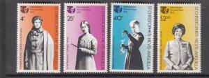 J27296 1975 st kitts-nevis set mnh #304-7 womans year
