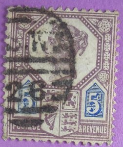118 Great BritainVF Stamp. Beautiful Cancel