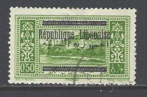 Lebanon Sc # 87 used (RS)