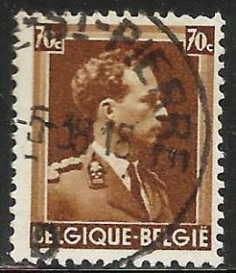 Belgium 1936 Scott# 283 Used