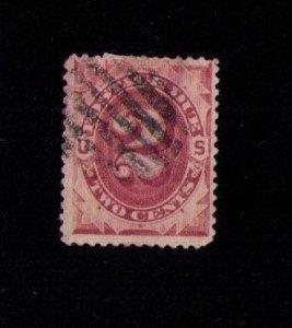 US Sc #J16 Used Postage Due F-VF