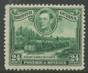 STAMP STATION PERTH British Guiana #234 KGVI Definitive Issue MLH CV$3.40