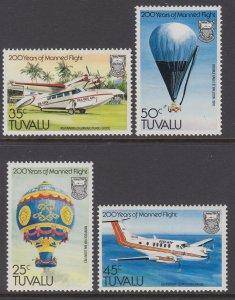Tuvalu 208-211 MNH VF