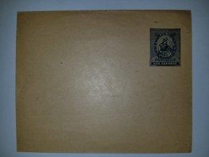 J) 1898 PERU, FRANQUEO 2 CENTS, XF