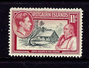 Pitcairn Is 3 MH 1940 issue