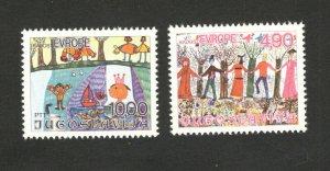 YUGOSLAVIA-MNH -SET-CHILDREN'S ART-JOY OF EUROPE-1978.