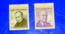 Chile - C257-58, MNH. Portraits. SCV - $0.60