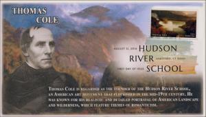 SC 4920, 2014 Hudson School, Thomas Cole, Digital Color Postmark , FDC