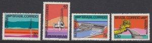 Brazil 1218-21 Industrial Development mnh