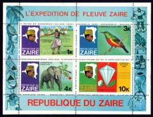 Zaire Souvenir Sheet #905A