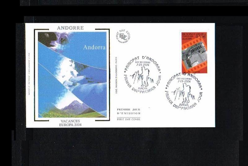 2004 - Europe CEPT FDC Andorra (French) Mi.615 [HY074]