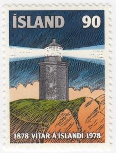 Iceland, SC # 514 (2), MNH, 1978, Lighthouse