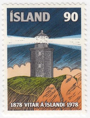Iceland, SC # 514 (2), MNH, 1978, Lighthouse