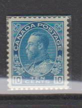 CANADA - KING GEORGE V ADMIRAL ISSUE #117 MLH STAMP LOT#27