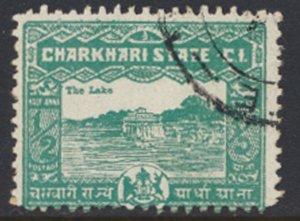 Charkhari State  1931    ½A   The Lake  Used see scan