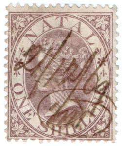 (I.B) Natal Revenue : Duty Stamp 1/-