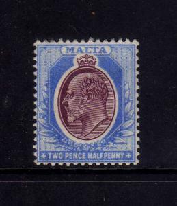 MALTA 1903-1904 MH SC.24