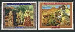 Algeria 428-429,MNH.Michel 537-538. Paintings by Etienne Dinet,1969.