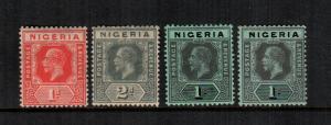 Nigeria  2 3 8 15   MH cat $ 17.00