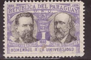 Paraguay Scott 352 Used  stamp